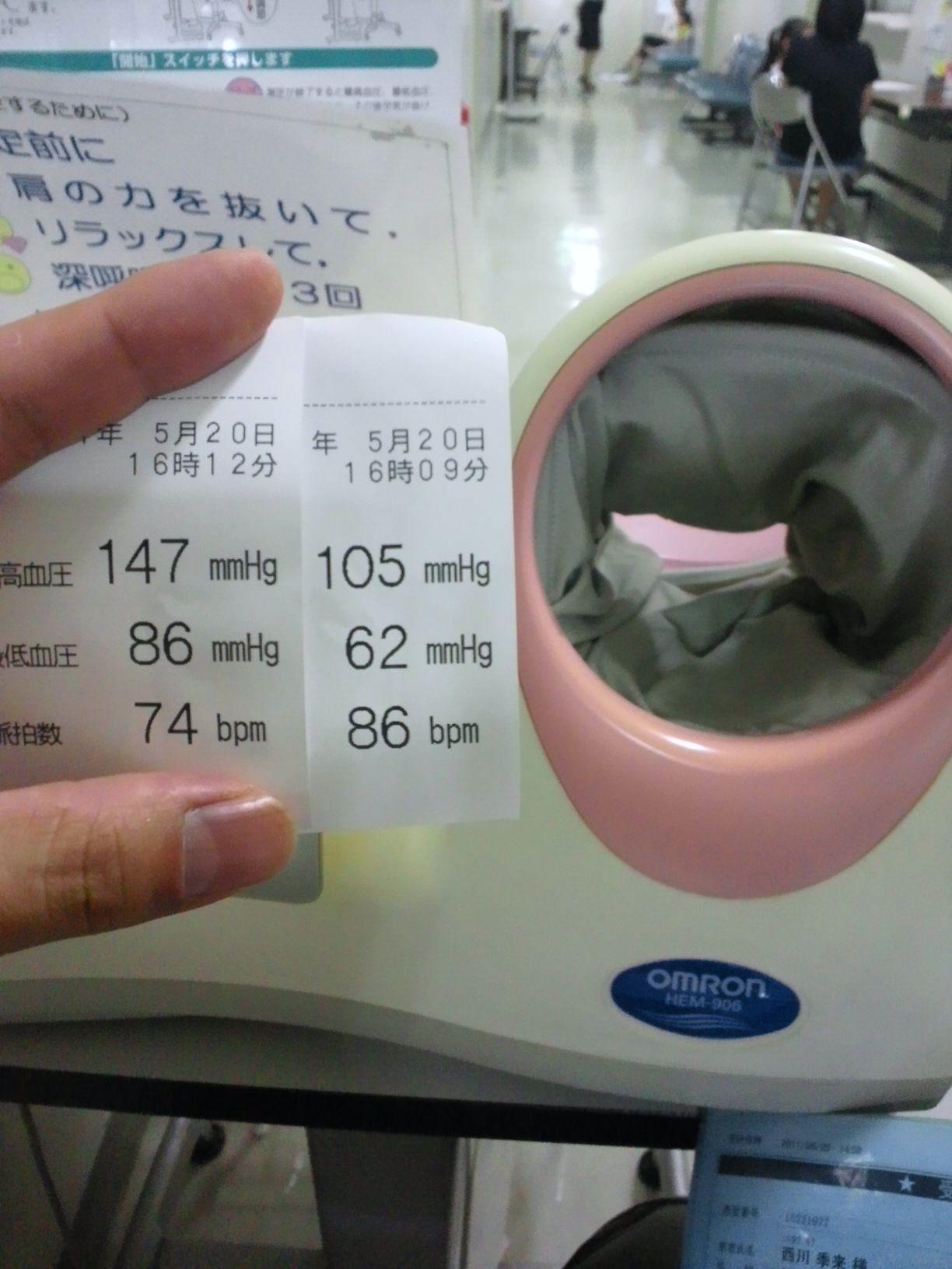 恒例の測定