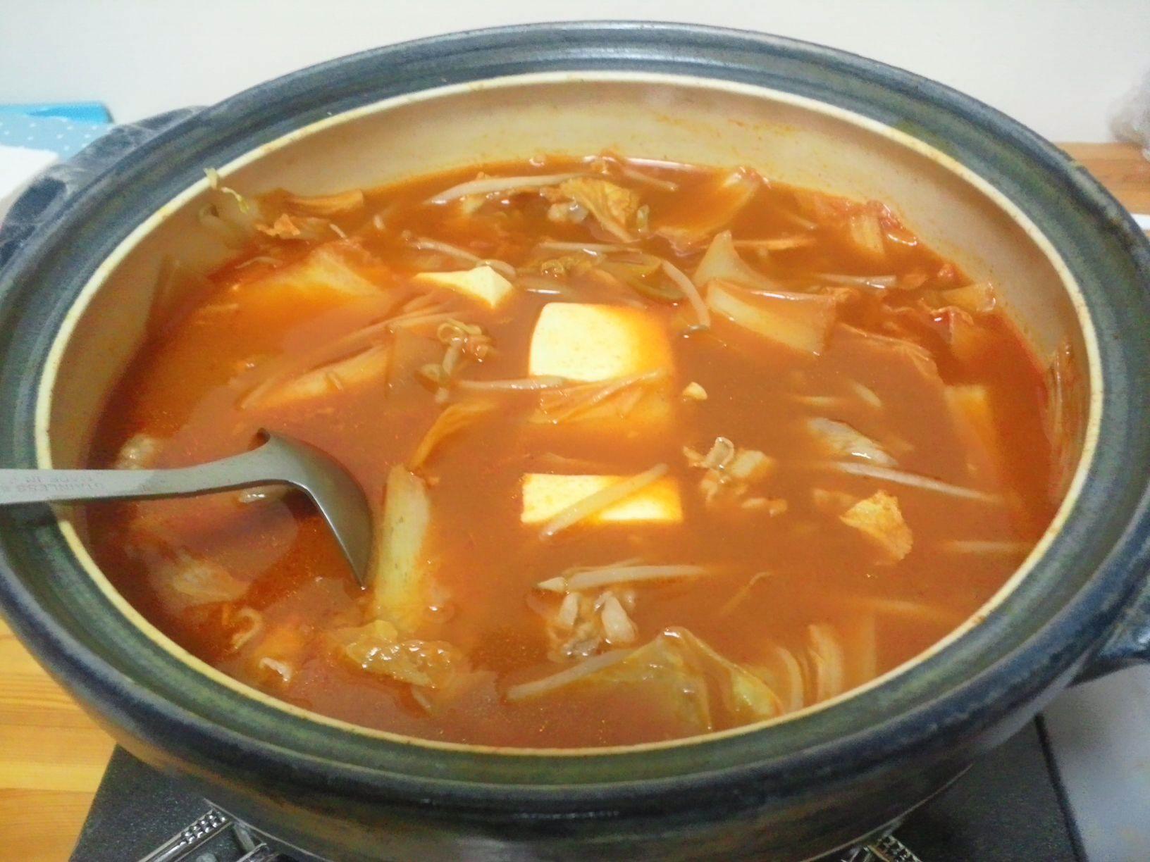 ☆真夏のキムチ鍋☆